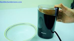 Walmart Coffee Grinder Krups 203 Electric Coffee And Spice Grinder Reviewed Youtube