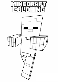 minecraft teddy bear coloring pages