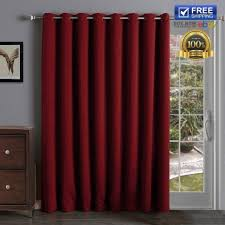 Red Blackout Blind Coffee Tables Door Blinds And Shades French Doors Curtains