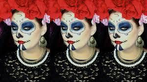 napoleon perdis makeup tutorial halloween sugar skull youtube