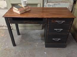 Small Vintage Desk Ranch Oak Desk Small Vintage Desk Solid Wood In 89 Hton