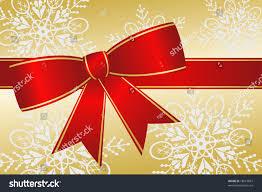 big present bow big christmas ribbon bow has stock vector 18613867