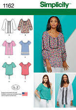 blouse sewing patterns peasant blouse pattern ebay