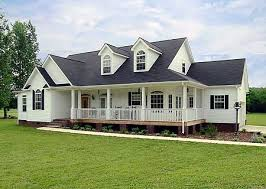 style ranch homes traditional style ranch farmhouse w wrap around porch hq plans