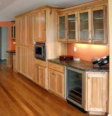 furniture large hickory kitchen with u shaped brown solid wood