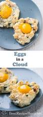 eggs in a cloud or cloud eggs recipe
