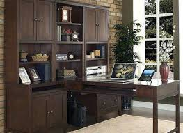 L Shaped Desk With Bookcase New Living Room Hillsdale 3 L Shaped Desk Set With Hutch