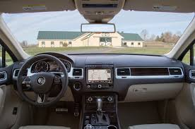 volkswagen van 2015 interior 2015 volkswagen touareg reviews and rating motor trend