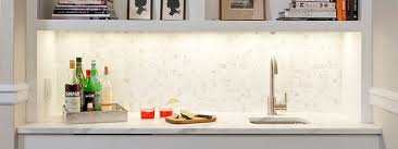 White Backsplash For Kitchen by White Gray Marble Mosaic Tile Backsplash Backsplash Com