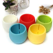 Office Pots by Buy New Chic Colorful Plastic Round Flower Planter Pots Tray Home