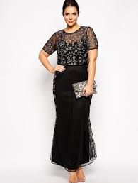 plus size cocktail dress sleeves pluslook eu collection