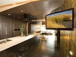 tv in kitchen ideas fall contemporary kitchen design ideas