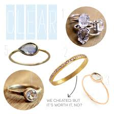 engagement rings without diamonds roundup non engagement rings a practical wedding a