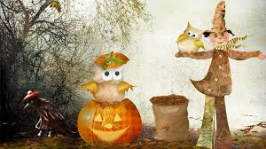 cute fall wallpapers fall scarecrow wallpaper wallpapersafari