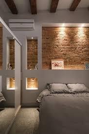 éclairage chambre à coucher mur de rangement intérieur blanc chambre à coucher éclairage niches