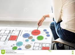 office floor plan sketch drawing concept stock photo image 70786675