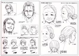 how to draw manga characters facial expressions reference book