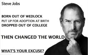 Steve Jobs Meme - steve jobs abandoned then chosen elle cuardaigh