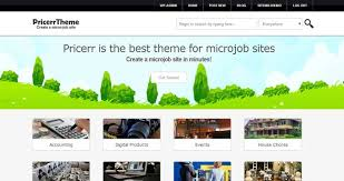 wordpress templates for websites create a micro job site with pricerr wordpress theme