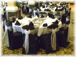 black chair sashes chair cover pictures