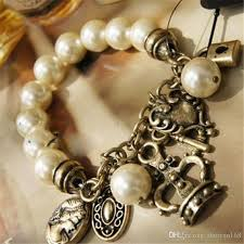pearl style bracelet images Discount fine jewelry beaded strands charms middle eastern gift jpg