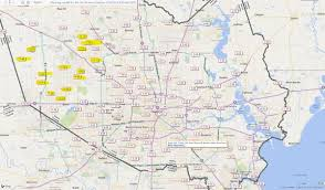 rainfall totals map map updated totals in houston a of in