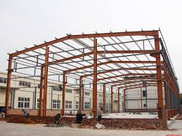 prefabricated industrial building steel structure shed lightweight