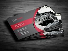 Business Card For Ceo Rent A Car Business Card Business Card Templates Creative Market