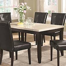 Amazoncom Coaster Home Furnishings  Casual Dining Table - Amazon kitchen tables