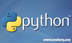 online tutorial of python python online training exolearn online training