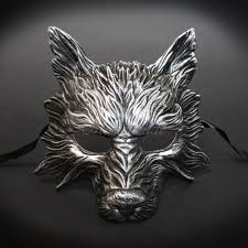 masquerade masks mens men s masquerade mask wolf animal masquerade mask men m31189
