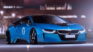 widebody cars bmw i8 widebody virtual tuning i8 by rain prisk designs