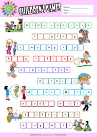 esl printable word games for adults children games esl printable worksheets for kids 2