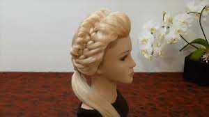 french side braid hairstyle for medium u0026 short hair video