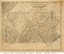 Pennsylvania On Map by Old Maps Of Pennsylvania