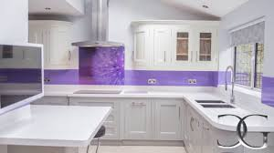 Kitchen Splashback Ideas Uk Purple Dandelion