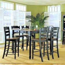 pub style table sets pub style dining table with 8 chairs pub dining table and chairs