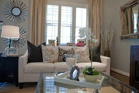 home design appealing entry room design with revere pewter and modern living room design with revere pewter and glass coffee table plus white sofa also beige