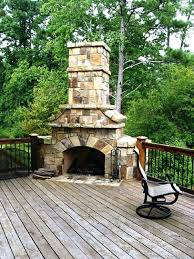 outdoor fireplace on deck u2013 bowbox