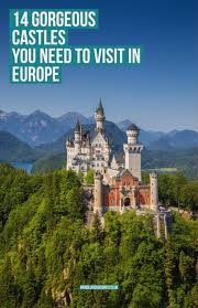 Neuschwanstein Castle Floor Plan by 14 Gorgeous Castles You Must See In Europe Hand Luggage Only