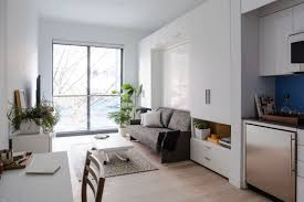 300 Sq Ft by Prefab New York Micro Unit Apartment Building Offers Affordable