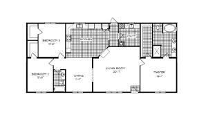 3 bedroom trailer floor plans fleming ranch modular home 2 024 sf 3 bed 2 bath next modular