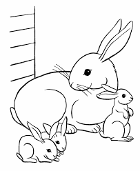 bunny coloring pages u2013 wallpapercraft