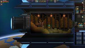 terraria halloween costumes starbound treasure room in a ship starbound pinterest terraria