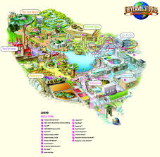 Disney Hollywood Studios Map First Look At The Theme Park Map For Universal Studios Singapore