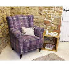 Comfortable Armchair Uk Penshurst Electric Riser Wingback Armchair Lilac Wilson Tartan