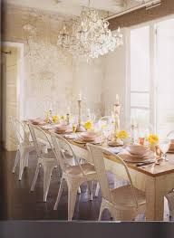 dining room love the mixture of old and new the polished crystal