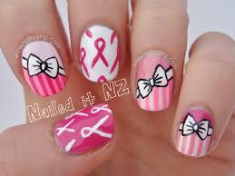 halloween breast cancer ribbon background nailed it nz breast cancer awareness month nail art tutorial