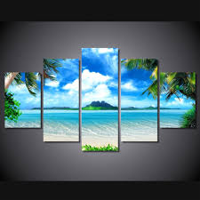canvas beach paintings promotion shop for promotional canvas beach