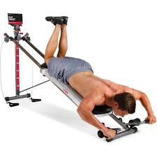 total gym 1400 total home gym with workout dvd walmart com